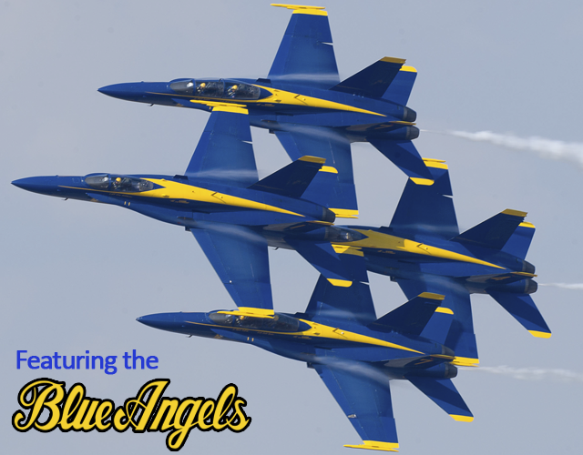 Blue Angels will be at Air Power Expo 2014!