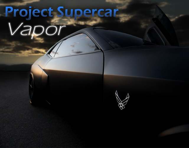 Project Supercar Vapor will be at Air Power Expo 2014